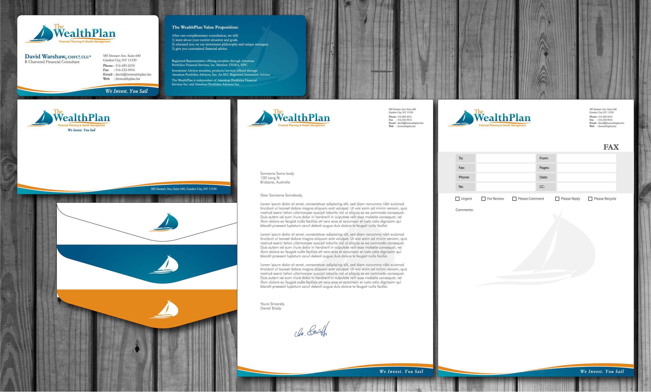 Check out this design for Business Card / Letterhead / Envelope by ...