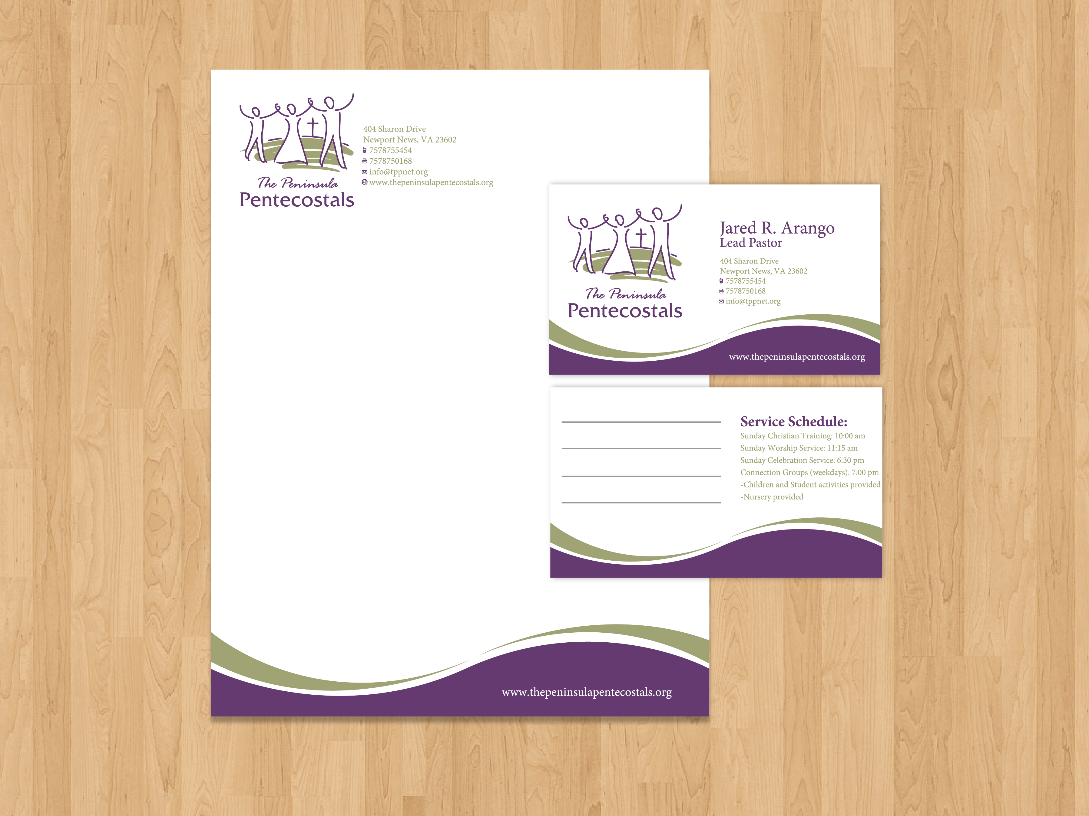 Check Out This Design For Church Letterhead Envelopes And