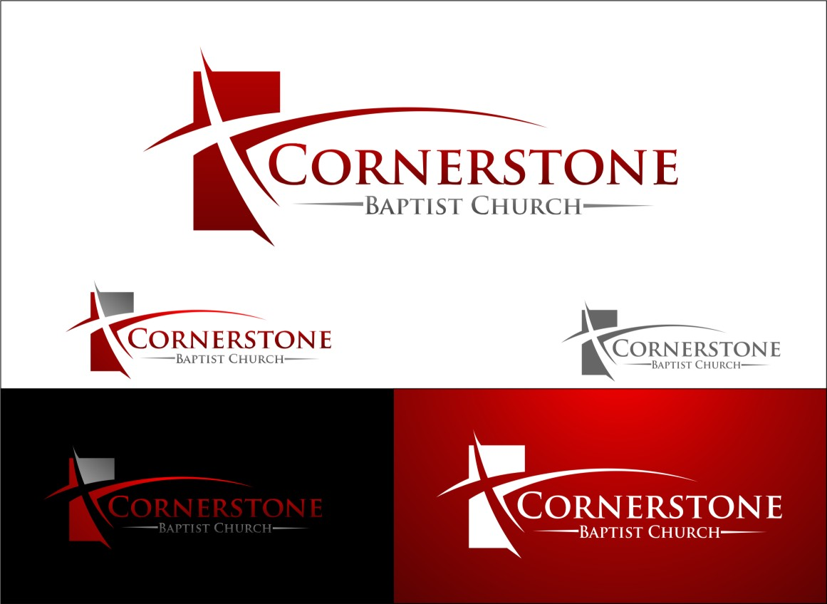 Check out this design for Cornerstone Baptist Church by ...