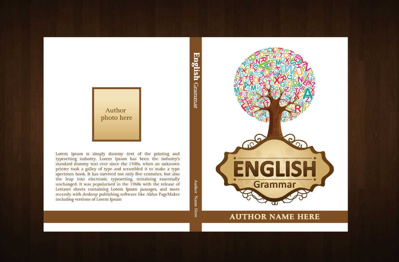 Check out this design for English Grammar Book Cover by ...