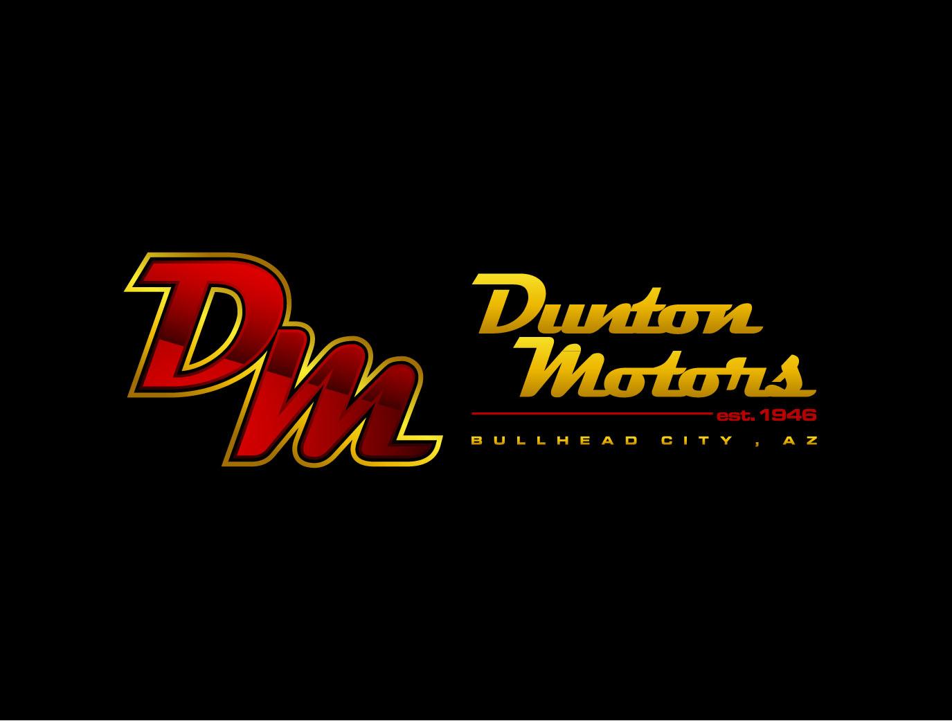 Check out this design for dunton motors est 1946 bullhead for Dunton motors auto sales bullhead city az