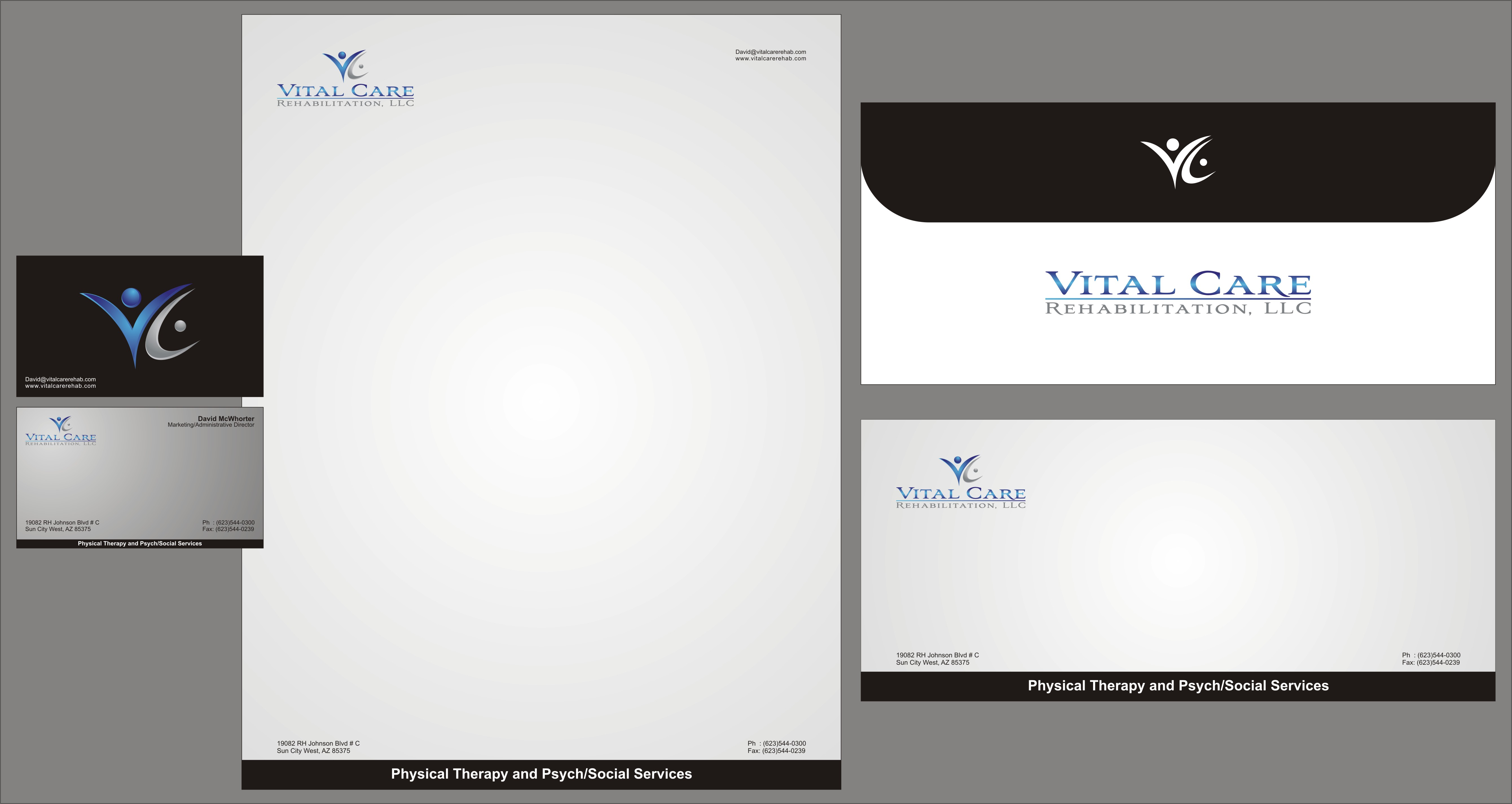Check out this design for Business Card, Letter Head, Envelope, Fax ...