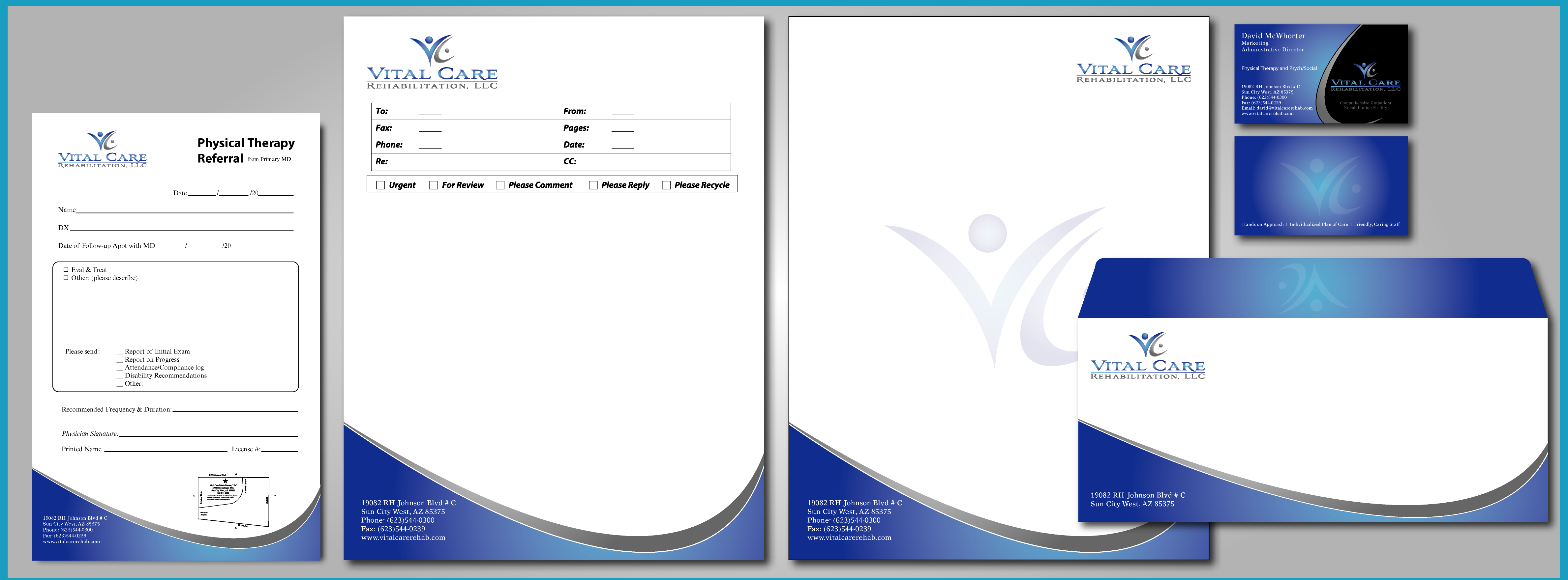 out this design for Business Card, Letter Head, Envelope, Fax Cover ...