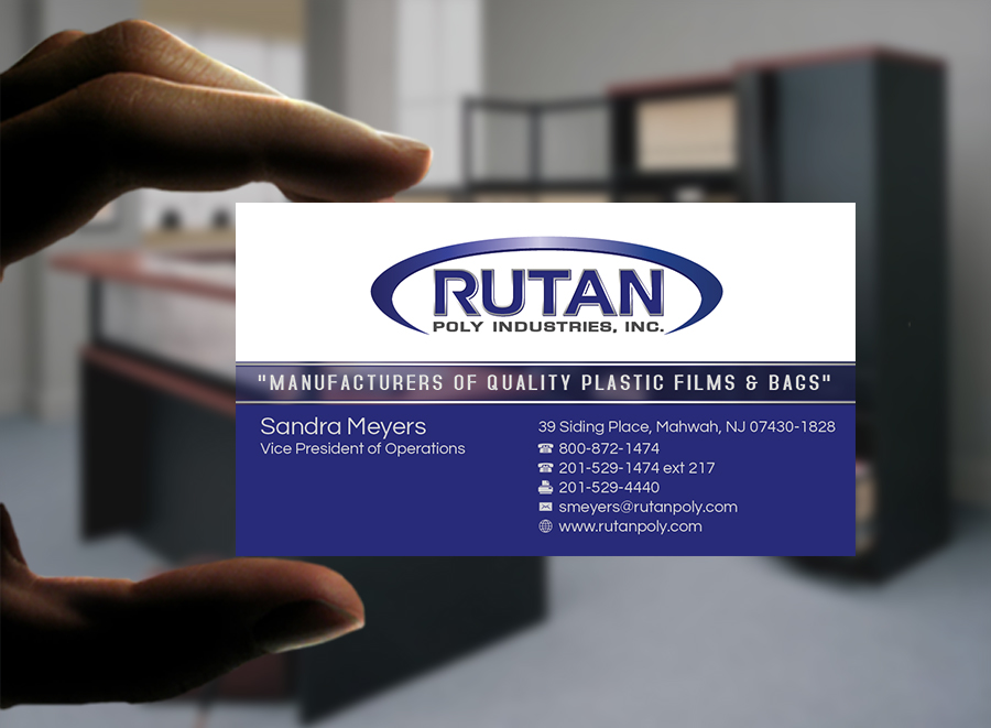 Check out this design for Rutan Poly Industries, Inc. by MycroBurst.com