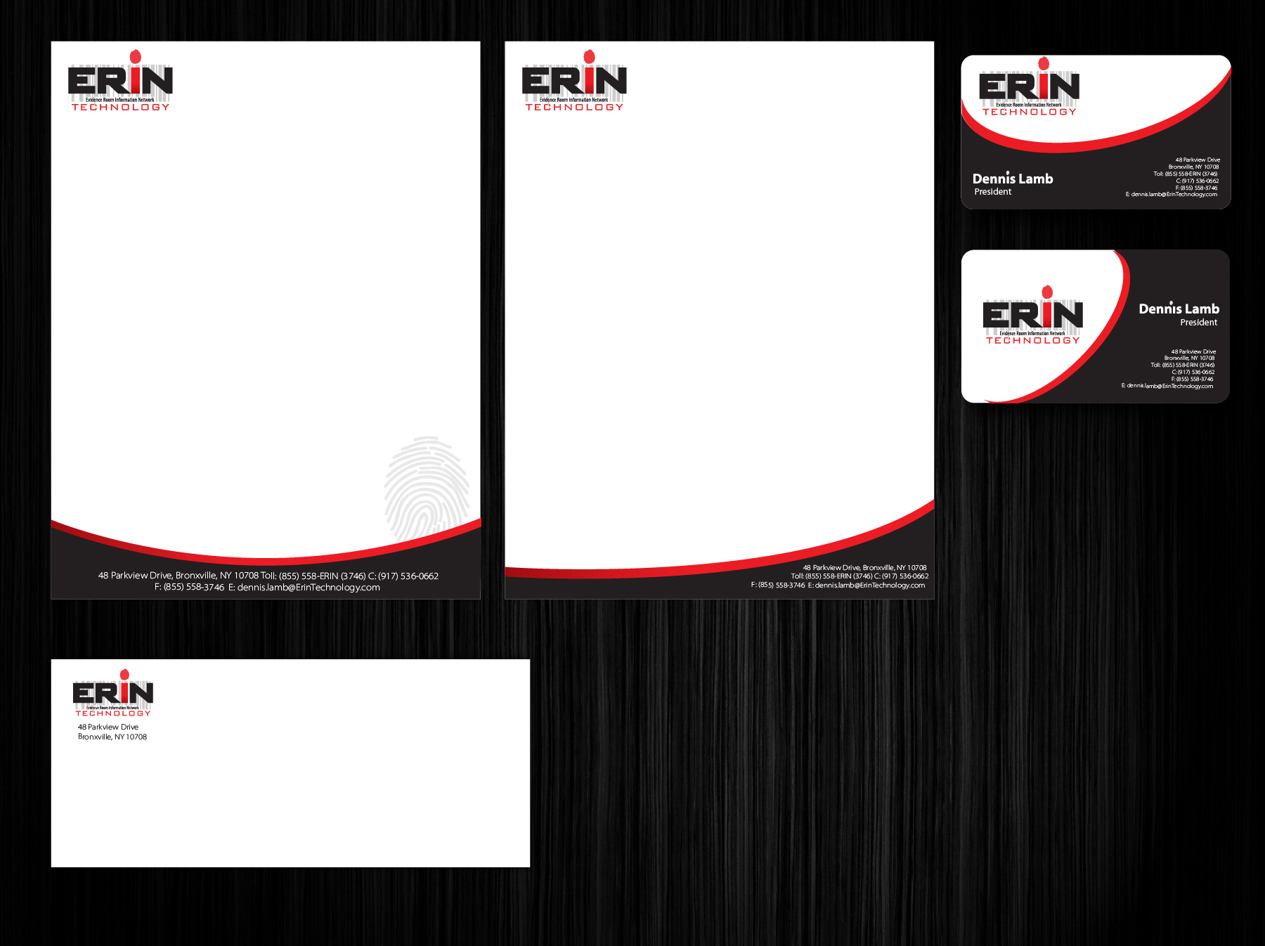 ... Technology business cards, letterhead, stationery by MycroBurst.com