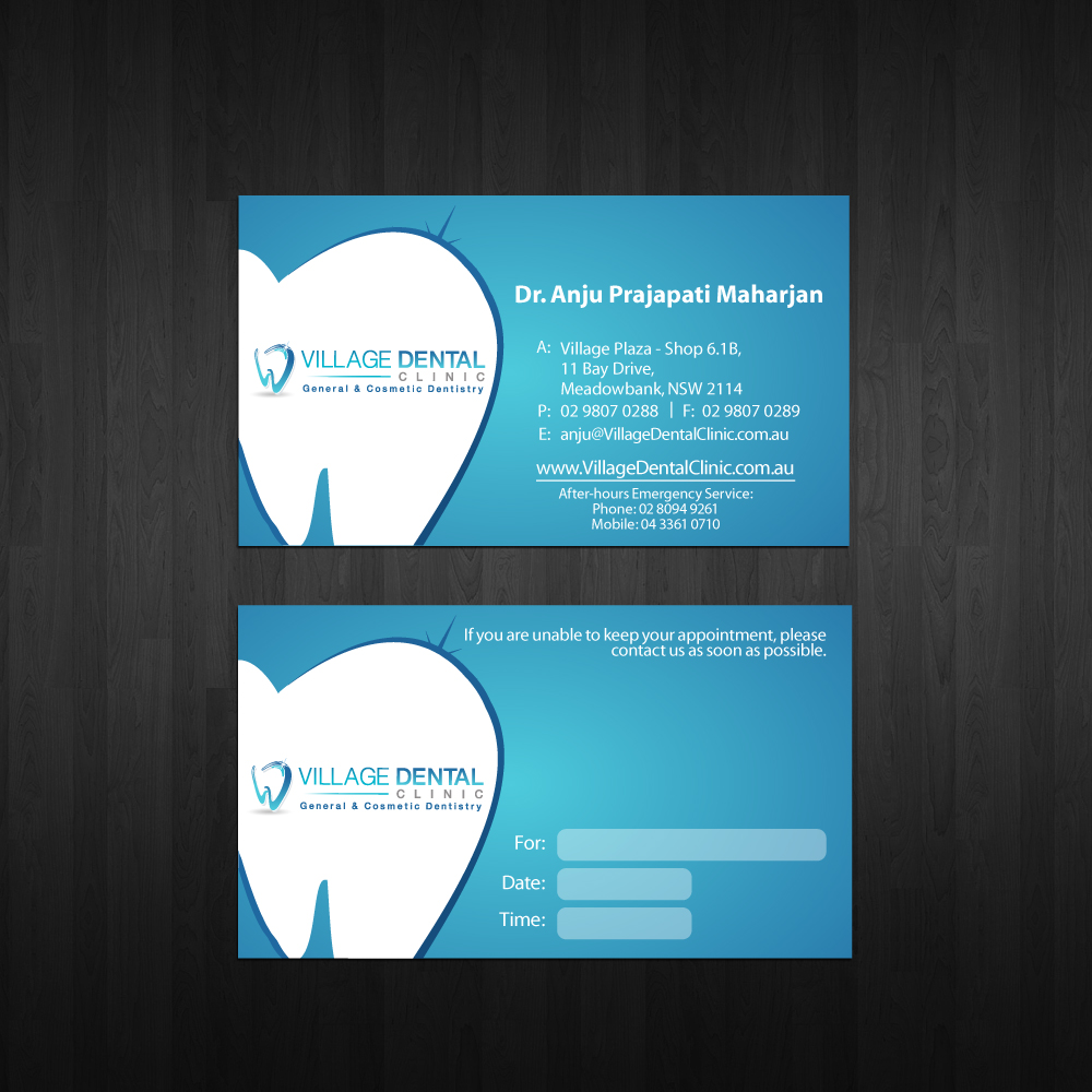 Check out this design for business cards, letterhead and envelopes ...