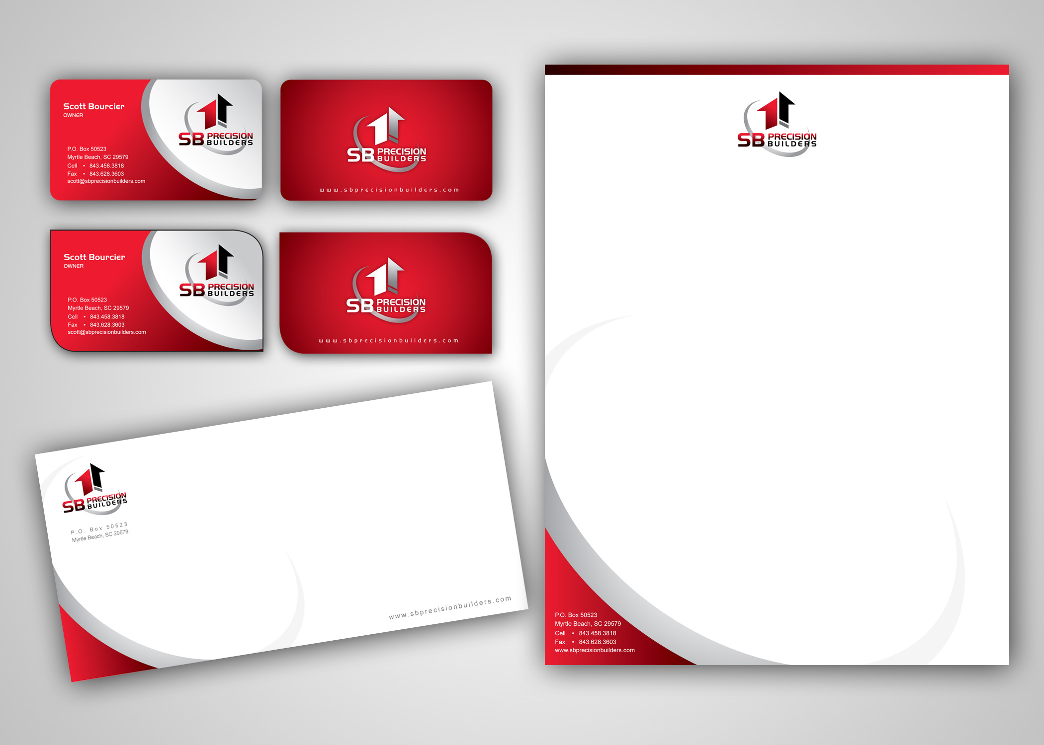 Check Out This Design For Business Card Letterhead Envelope By Mycroburst