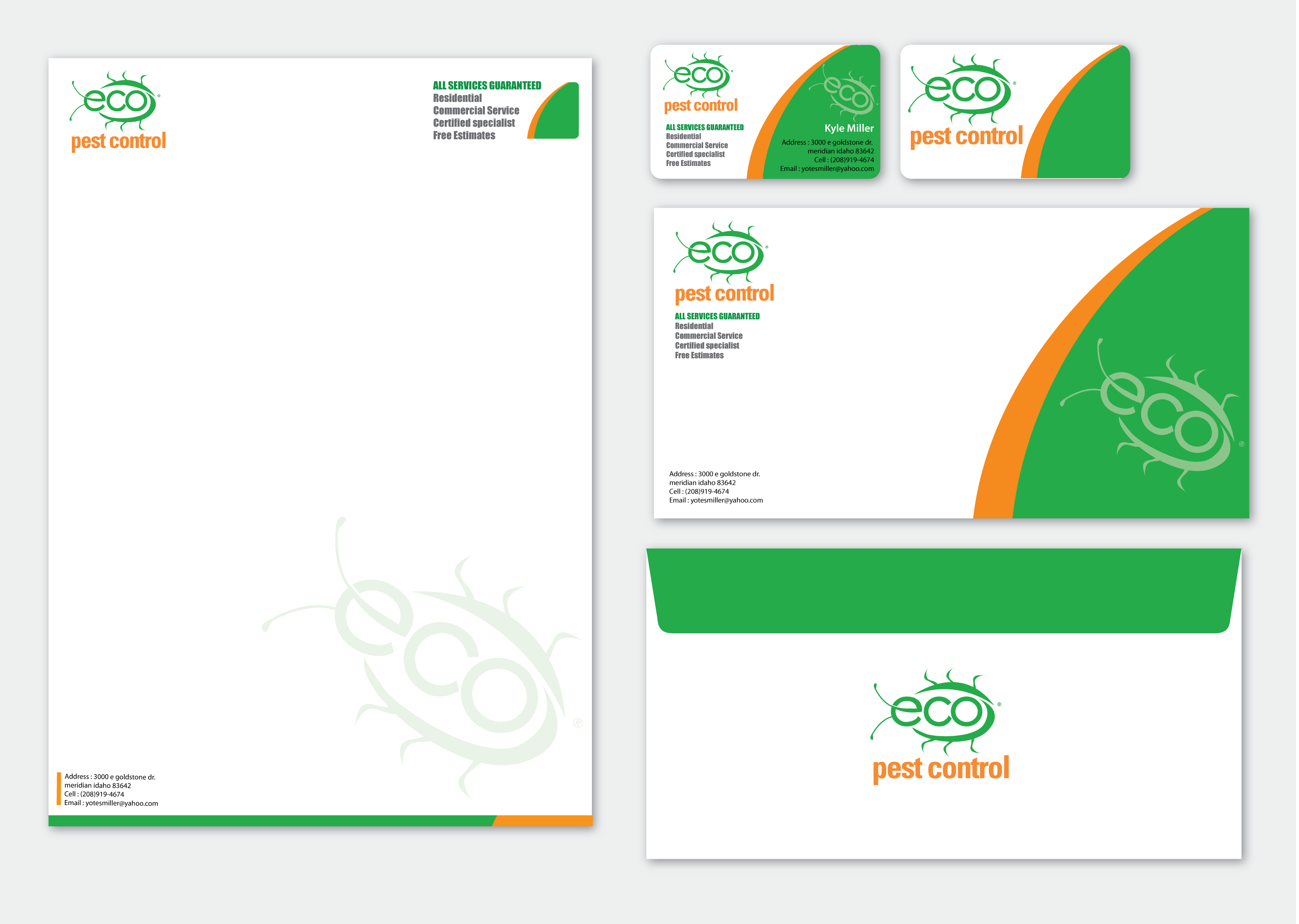 Business Card Display Template