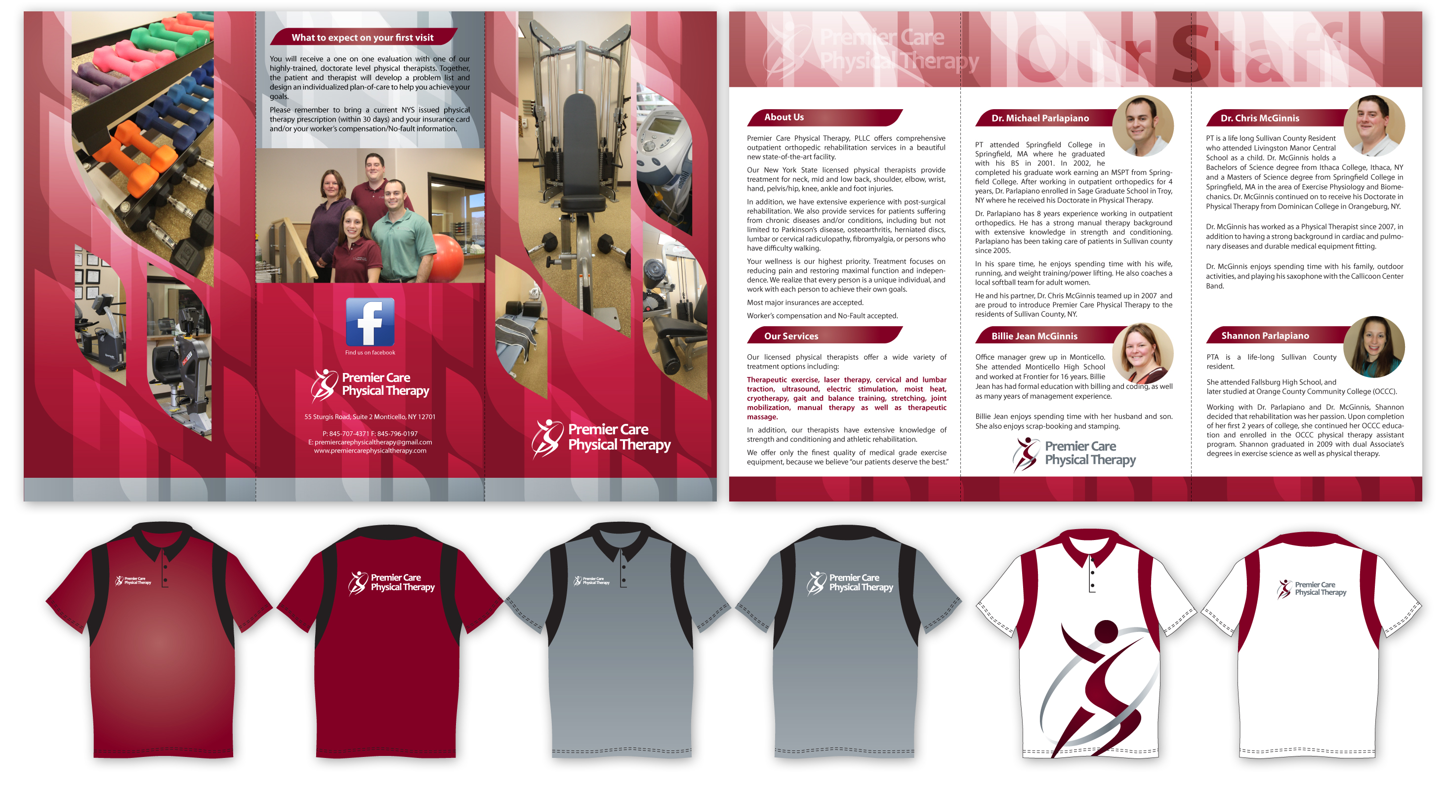 Check Out This Design For Tri Fold Brochure Amp T Shirt