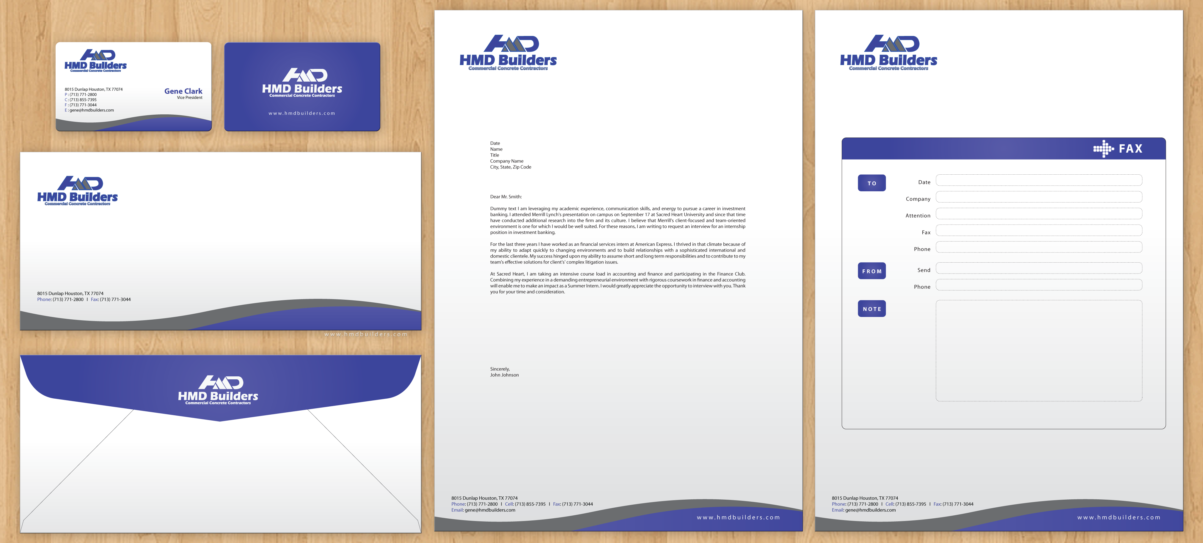 check out this design for need standard business card letterhead