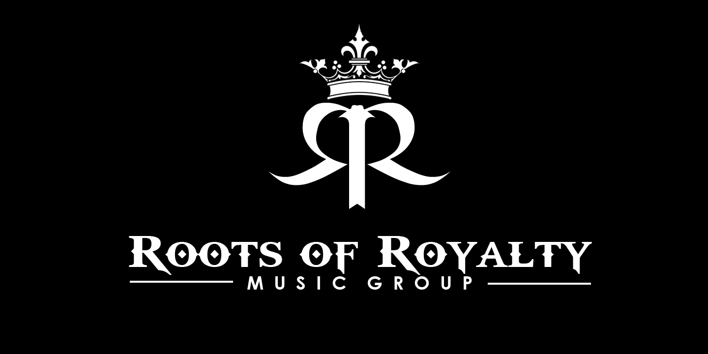 Check Out This Design For NameRoots Of Royalty Music